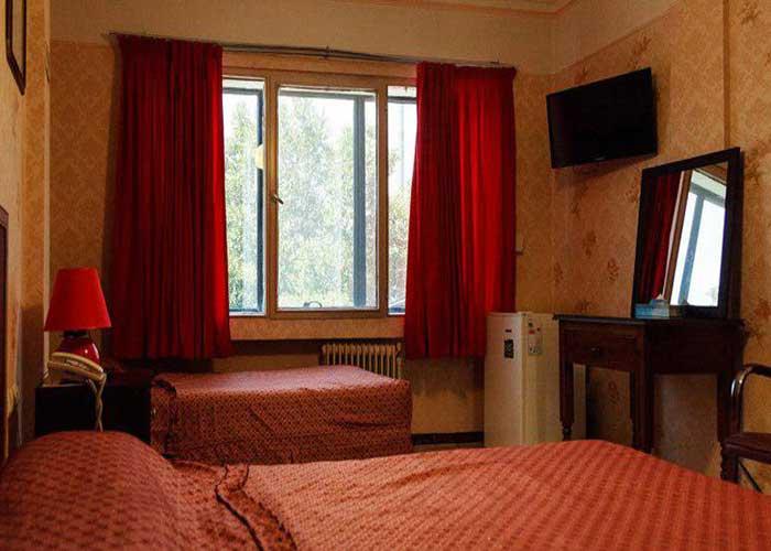 فضای اتاق هتل آپارتمان رازی تهران