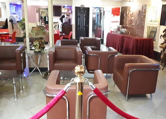 لابی هتل آپارتمان رازی تهران