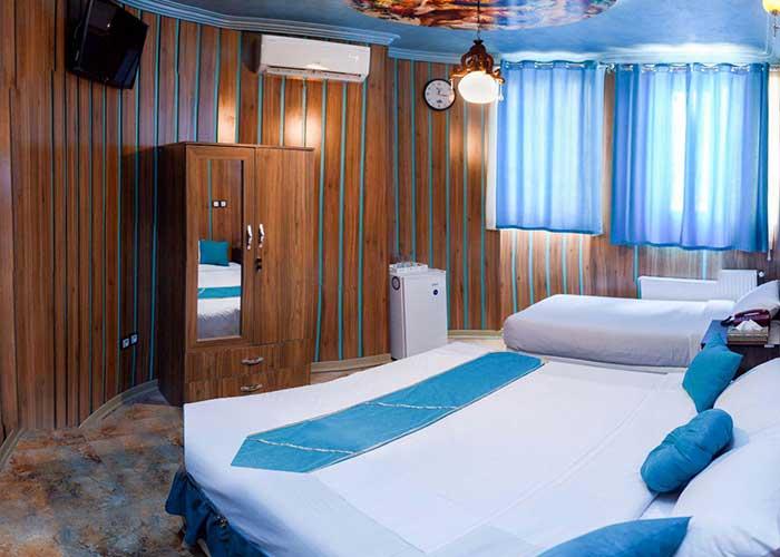 اتاق سه تخته هتل ریتون شیراز