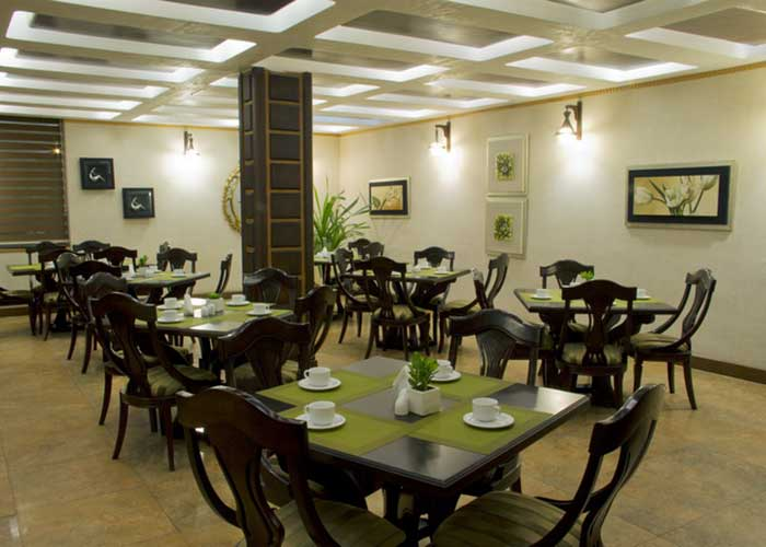 رستوران هتل رودکی تهران