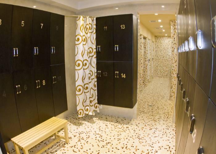رختکن هتل رویال شیراز