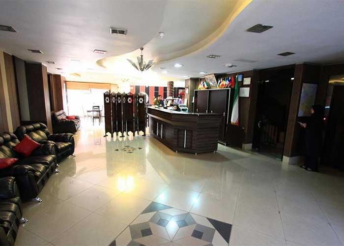 لابی هتل صبا اصفهان