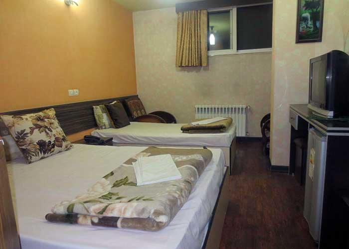 سه تخته هتل صبا اصفهان
