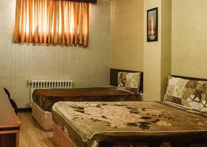 عکس اتاق های هتل صبا اصفهان