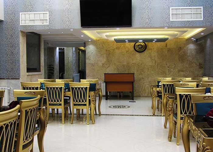 رستوران هتل جهانگردی سبزوار