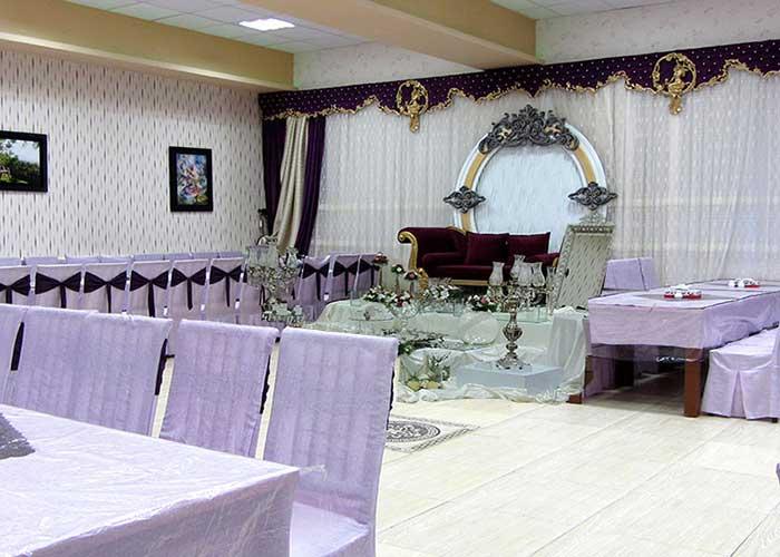 سالن عروسی هتل جهانگردی سبزوار