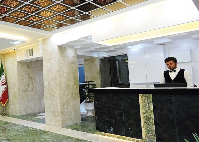 لابی هتل جهانگردی سبزوار