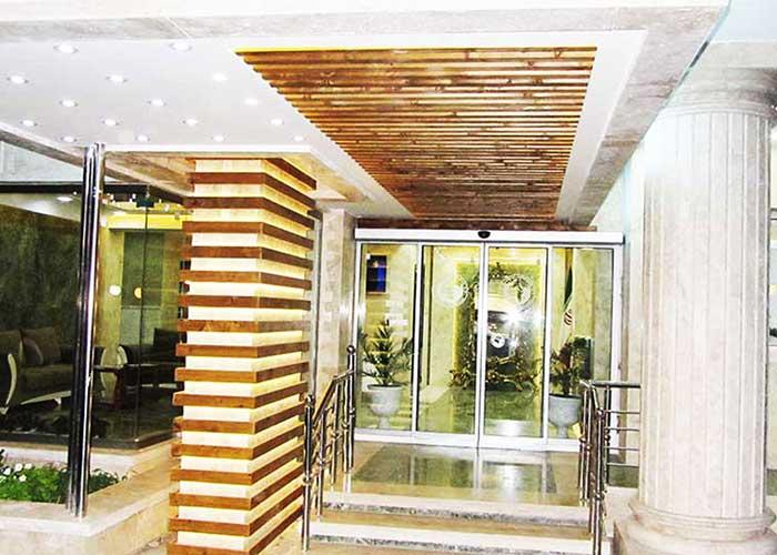 ورودی هتل جهانگردی سبزوار