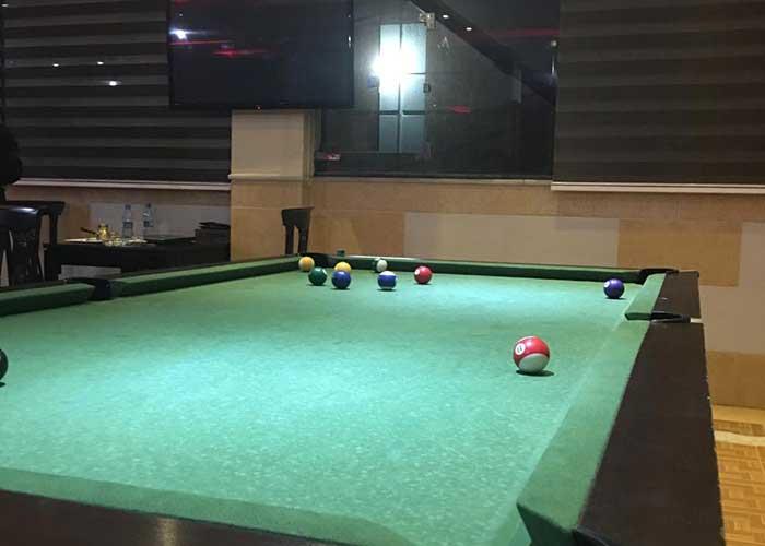 بیلیارد هتل صدرا شیراز