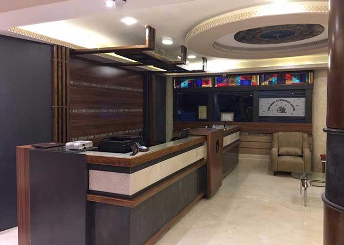 پذیرش هتل صدرا شیراز
