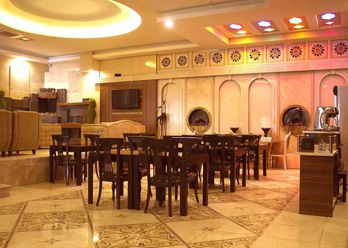 کافی شاپ هتل صدرا شیراز