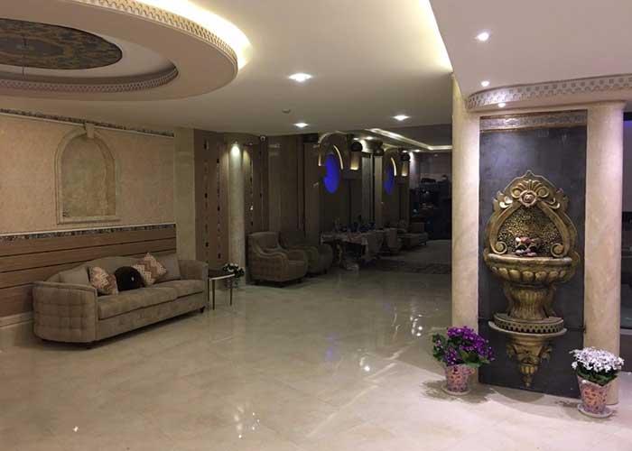 لابی هتل صدرا شیراز