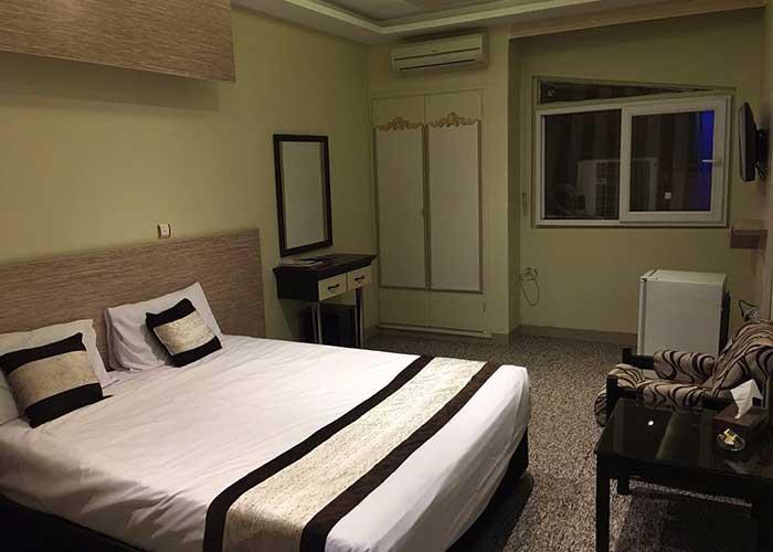 دو تخته دبل هتل صدرا شیراز