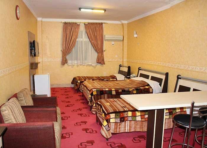 سه تخته هتل صدرا شیراز