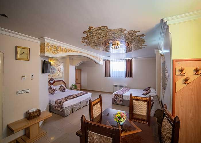 چهار تخته هتل صفوی اصفهان