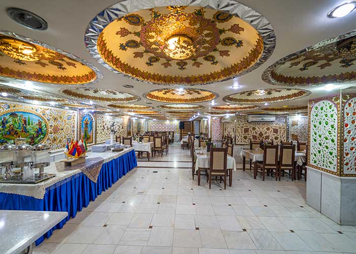 رستوران هتل صفوی اصفهان