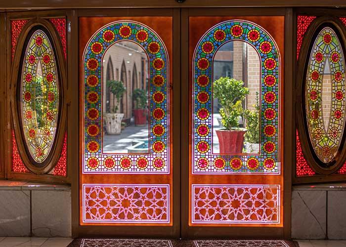 ورودی هتل صفوی اصفهان