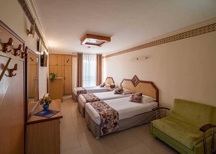 عکس سه تخته هتل صفوی اصفهان