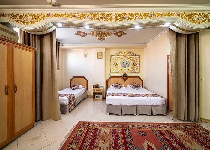 سه تخته هتل صفوی اصفهان