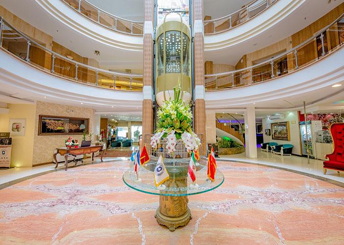 لابی هتل سفیر اصفهان