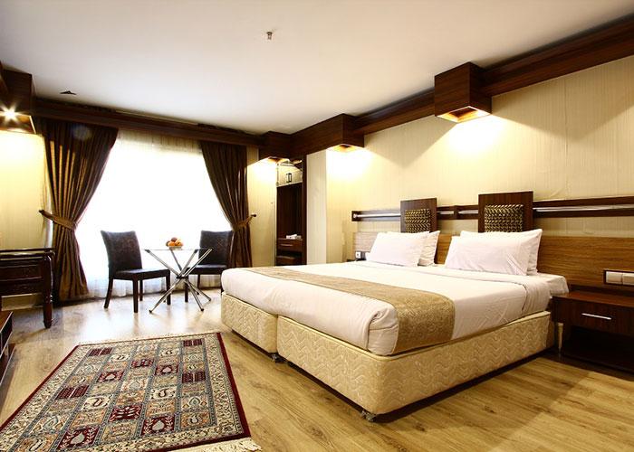 عکس اتاق دو تخته هتل سفیر اصفهان