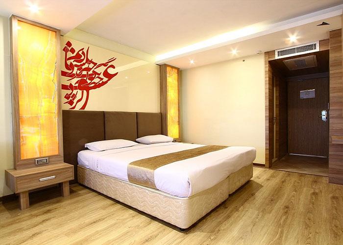 اتاق دو تخته هتل سفیر اصفهان