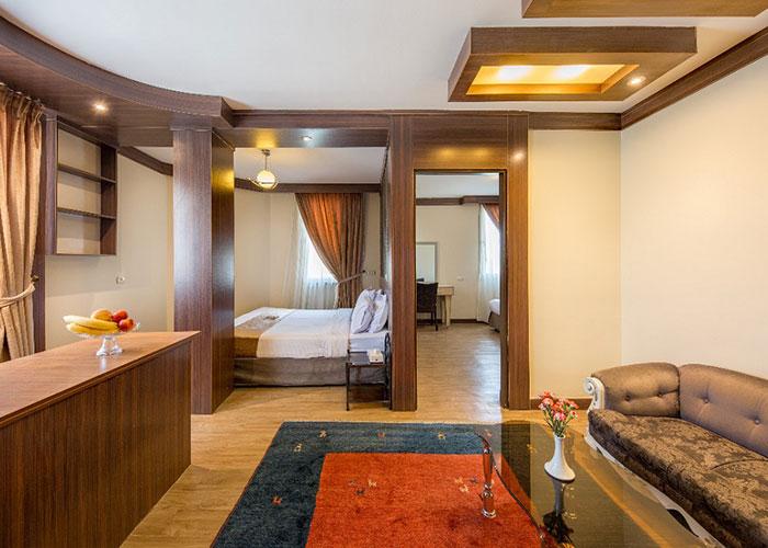 آپارتمان یک خوابه هتل سفیر اصفهان