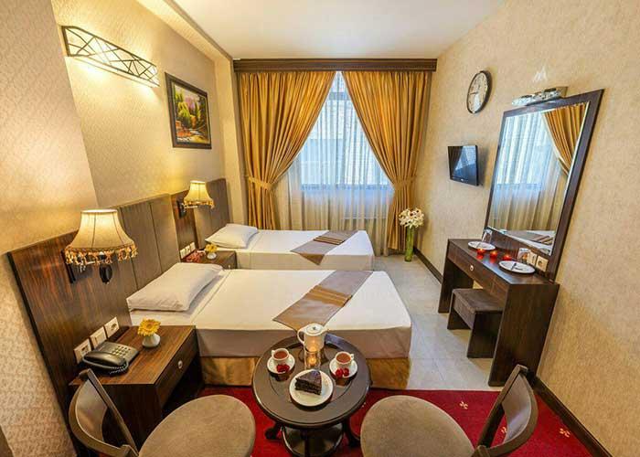 اتاق دو تخته هتل سهند 2 مشهد