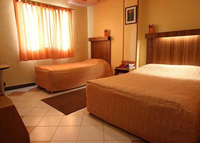 اتاق های هتل سامان کرج