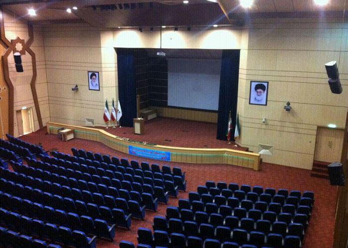سالن آمفی تئاتر هتل ثامن مشهد