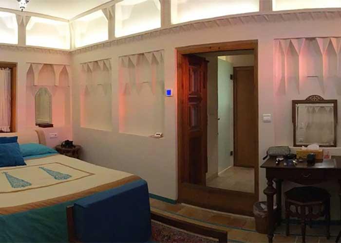 عکس اتاق های  خانه سرای عامری های کاشان