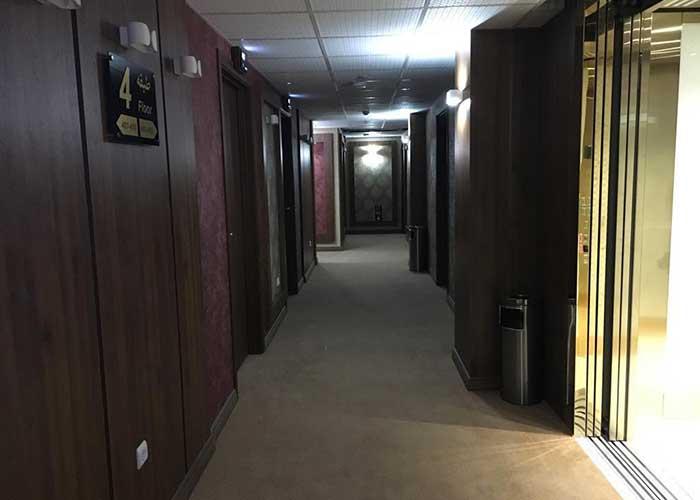 راهرو هتل ساران شهمیرزاد