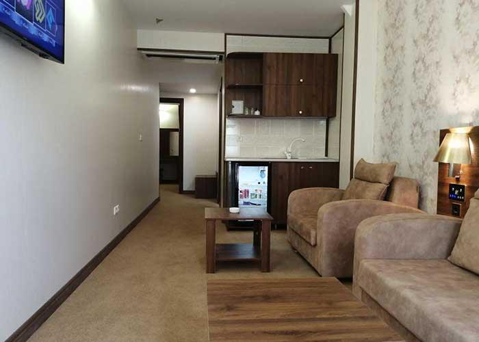 تصاویر اتاق هتل ساران شهمیرزاد
