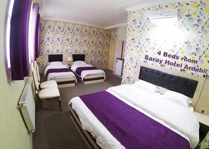 اتاق هتل سارای اردبیل