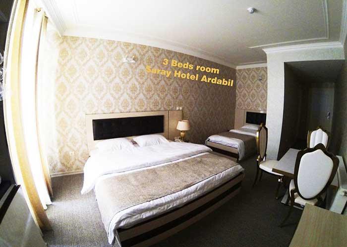 تصاویر اتاق هتل سارای اردبیل