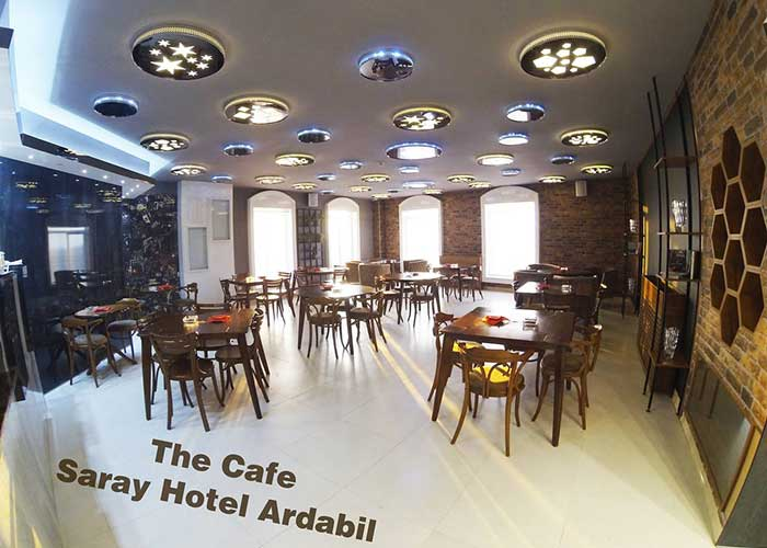 کافی شاپ هتل سارای سرعین
