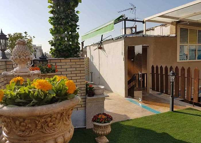 پشت بام هتل سرای اردیبهشت اصفهان