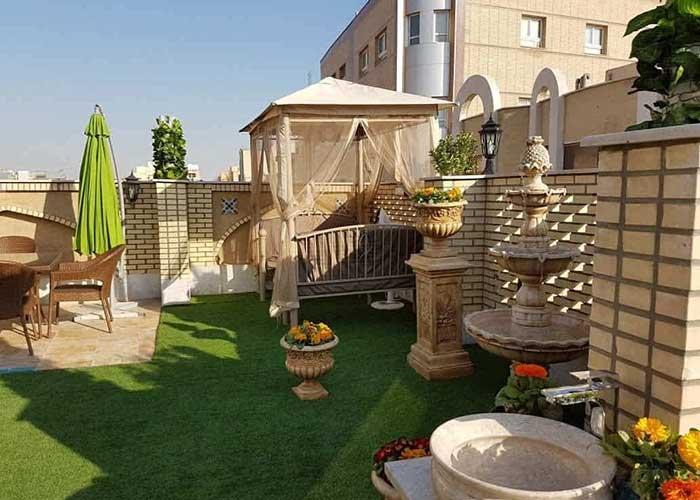 آلاچیق هتل سرای اردیبهشت اصفهان