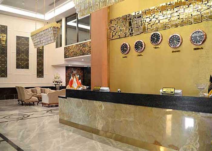 پذیرش هتل سارینا مشهد