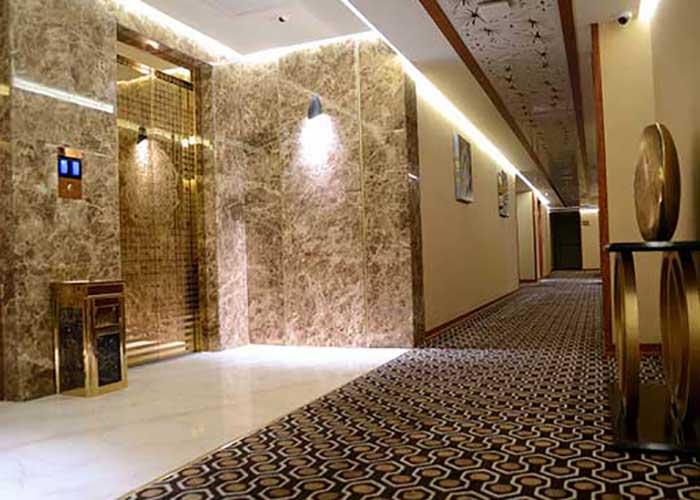 راهرو هتل سارینا مشهد