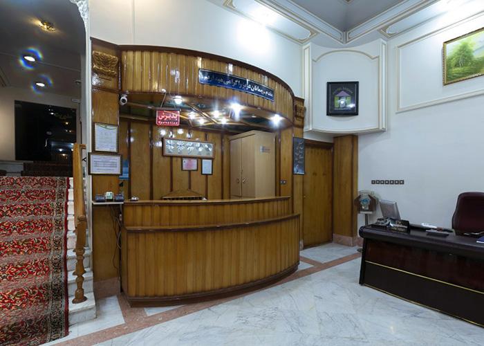 پذیرش هتل ساسان سرعین