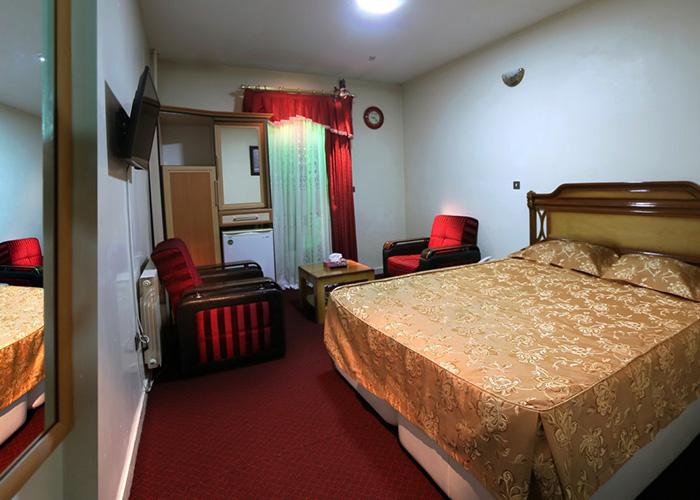 اتاق دو تخته هتل ساسان سرعین
