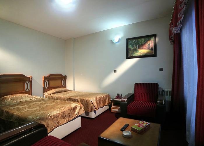 اتاق دو تخته توئین هتل ساسان سرعین