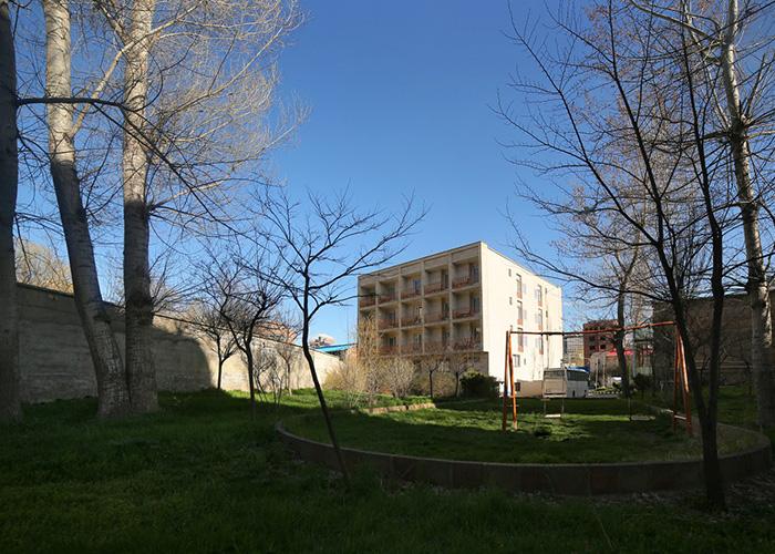 تصاویر ساختمان هتل ساسان سرعین