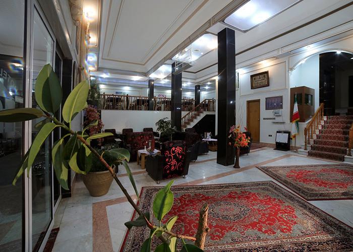 لابی هتل ساسان سرعین