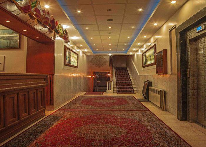پذیرش هتل ساسان شیراز