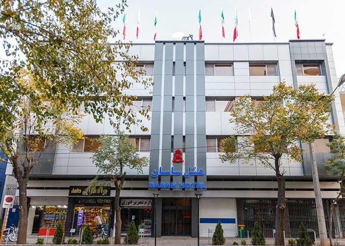 ساختمان هتل ساسان شیراز