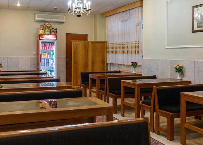 عکس رستوران هتل ساسان شیراز