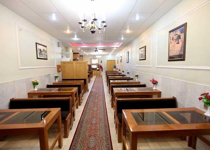 تصاویر رستوران هتل ساسان شیراز
