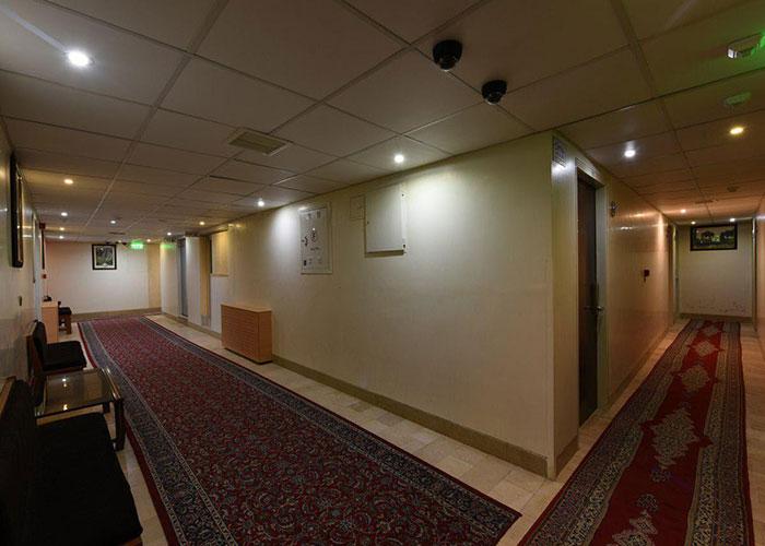 راهرو هتل ساسان شیراز